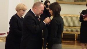 Odznaczenia dla wspierających przemiany na Ukrainie fot.  ŚWIECZAK