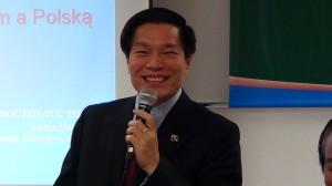 dr Nguyen Van Thanh – Radca handlowy ambasady wietnamskiej w Polsce   Gospodarka Wietnamu na tle stosunków polsko-wietnamskich  fot. ŚWIECZAK