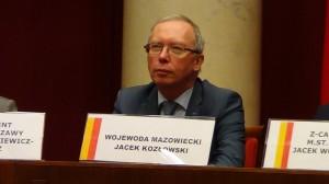 Wojewoda Mazowiecki Jacek Kozłowski Zaprzysiężenie Hanny Gronkiewicz-Waltz na Prezydent Warszawy fot. ŚWIECZAK