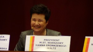 Prezydent m. st. Warszawy prof. Hanna Gronkiewicz-Waltz  Zaprzysiężenie Hanny Gronkiewicz-Waltz na Prezydent Warszawy  fot. ŚWIECZAK
