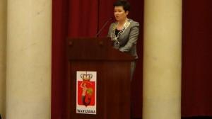 Prezydent m. st. Warszawy prof. Hanna Gronkiewicz- Waltz  Zaprzysiężenie Hanny Gronkiewicz- Waltz na Prezydent Warszawy fot. ŚWIECZAK