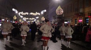 Świąteczna iluminacja w Warszawie fot. ŚWIECZAK