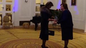 Anna Komorowska spotkała się z paniami ambasador i małżonkami ambasadorów fot. ŚWIECZAK