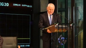 Premier Jan Krzysztof Bielecki przewodniczący Rady Gospodarczej przy premierze RP Warsaw Economic Hub fot. ŚWIECZAK