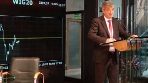 Gary Palmer, Dyrektor Zarządzający Irish Debt Securities Association (IDSA), były Dyrektor Wykonawczy Irish Funds Industry Association (IFIA)  Warsaw Economic Hub fot. ŚWIECZAK