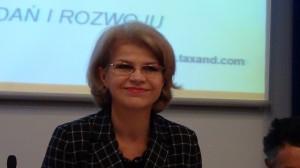podsekretarz stanu w Ministerstwie Gospodarki Grażyna Henclewska. Znaczenie sektora B+R+I w nowej perspektywie finansowej fot. ŚWIECZAK