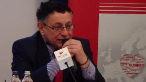 Sławomir Majman -prezes PAIiIZ, Znaczenie sektora B+R+I w nowej perspektywie finansowej fot. ŚWIECZAK