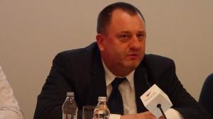Zbigniew Palenica - Członek  Zarządu  Solaris Bus & Coach SA Znaczenie sektora B+R+I w nowej perspektywie finansowej fot. ŚWIECZAK