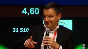 Janusz Jankowiak, Główny Ekonomista Polskiej Rady Biznesu  X Kongres Consumer Finance  fot. ŚWIECZAK