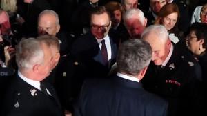 Spotkanie wigilijne Prezydenta RP ze strażakami fot. ŚWIECZAK