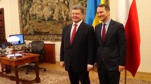Spotkanie Prezydenta Ukrainy z Marszałkiem Sejmu  fot. ŚWIECZAK