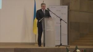 Prezydent Bronisław Komorowsk  Forum gospodarcze Polska–Ukraina fot. ŚWIECZAK