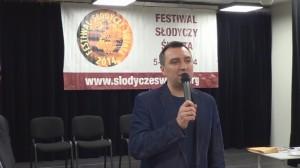 Dyrektor Robert Woźniak Festiwal słodyczy Świata - konferencja prasowa fot. ŚWIECZAK