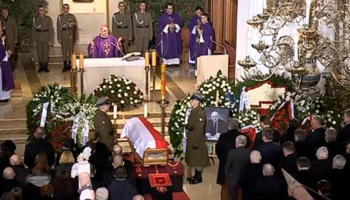 Uroczystości pogrzebowe Józefa Oleksego