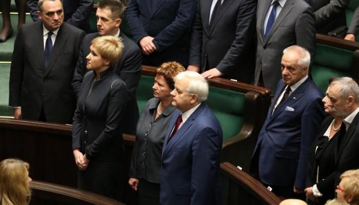 W ławach poselskich zasiedli nowi posłowie fot. Krzysztof Białoskórski
