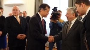 Noworoczne spotkanie marszałka Senatu z korpusem dyplomatycznym fot.ŚWIECZAK
