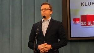 Dariusz Joński Konferencja prasowa  SLD - Ostatecznie rozstanie PO ze związkami partnerskimi fot. ŚWIECZAK