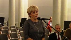 Ewa Drozd Poseł na Sejm RP Konferencja konsultacyjna projektu Programu Budowy Dróg Krajowych na lata 2014-2023 fot. ŚWIECZAK
