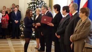 Uroczystość wręczenia aktów nadania obywatelstw fot. ŚWIECZAK
