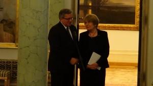 Galeria Malarstwa Polskiego z kolekcji Muzeum Narodowego w Krakowie otwarta w Pałacu Prezydenckim fot. ŚWIECZAK