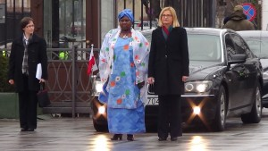Ceremonia złożenia listów uwierzytelniających przez Ambasadorów Republiki Nigru, Botswany, Mali, Mozambiku i Królestwa Kambodży fot. ŚWIECZAK