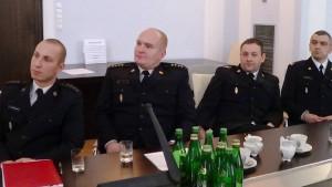 Bezpieczeństwo pożarowe w mieszkaniach – konferencja Senackiego Zespołu Strażaków fot. ŚWIECZAK
