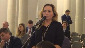 Joanna Skrzydłowska  Członek Zarządu Konferencja konsultacyjna projektu Programu Budowy Dróg Krajowych na lata 2014-2023 fot. ŚWIECZAK