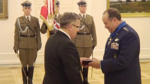 Uroczystość odznaczenia dowódcy sił NATO w Europie