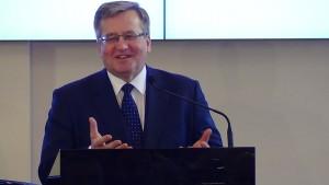Bronisław Komorowski  Prezydent Rzeczypospolitej Polskiej  90-lecie Polskiego Radia fot.ŚWIECZAK