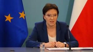 Ewa Kopacz  Prezes Rady Ministrów Konferencja prasowa po posiedzeniu Rady Ministrów 3 lutego 2015r fot. ŚWIECZAK