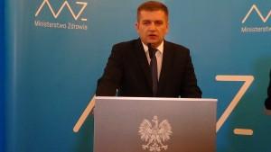 Bartosz Arłukowicz   Minister Zdrowia Błąd w klinice in vitro w Szczecinie fot. ŚWIECZAK