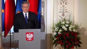 Bronisław Komorowski - Zamierzam ubiegać się ponownie o urząd prezydenta RP fot. ŚWIECZAK