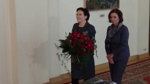 Premier Ewa Kopacz spotka się z aktorką Danutą Szaflarską, która w dniu jutrzejszym obchodzić będzie 100. urodziny.