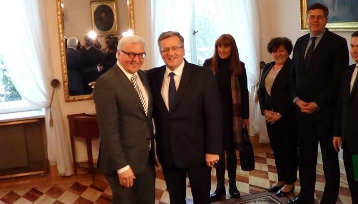 Spotkanie Prezydenta RP z Ministrem Spraw Zagranicznych Niemiec fot. ŚWIECZAK