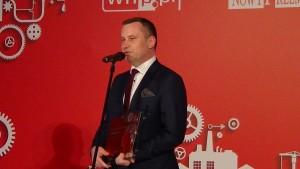 """Gala przyznania tytułów """"Tego, który zmienia polski przemysł"""" fot. ŚWIECZAK"""