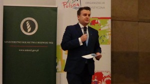 Tomasz Jędrzejczak Podsekretarz Stanu w Ministerstwie Sportu i Turystyki  NOWOROCZNE SPOTKANIE MEDIÓW fot. ŚWIECZAK
