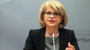Grażyna Henclewska Podsekretarz stanu w MG  Konferencja prasowa – rozwój i promocja polskiego sektora kosmicznego fot. ŚWIECZAK
