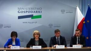 Konferencja prasowa – rozwój i promocja polskiego sektora kosmicznego fot. ŚWIECZAK