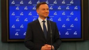 Duda apeluje do Prezydenta Komorowskiego o debatę przedwyborczą. fot. ŚWIECZAK