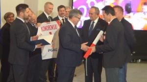 Spotkanie Prezydenta RP z reprezentacją Polski w Piłce Ręcznej fot. ŚWIECZAK