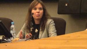 Dr. Joanna Gocławska-Bolek   Dyrektor Centrum Studiów Latynoamerykańskich UW KUBA VS USA – EWOLUCJA, CZY REWOLUCJA?  fot. ŚWIECZAK