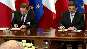 Premier Francji Manuel Valls z wizytą w Polsce fot. ŚWIECZAK