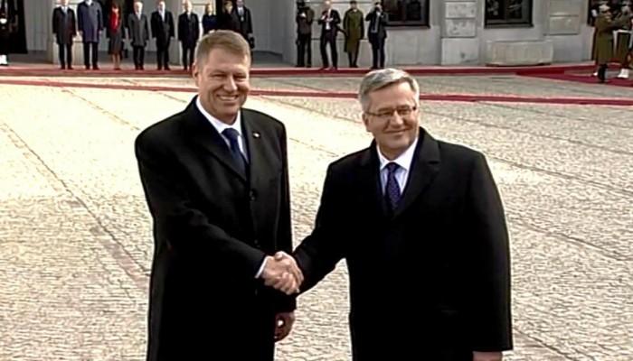 Prezydent Rumunii Klaus Iohannis z wizytą w Polsce fot. ŚWIECZAK