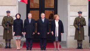 Prezydent Republiki Finlandii Sauli Niinistö z oficjalną wizytą w Polsce. fot. ŚWIECZAK
