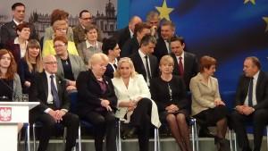 Zrealizowałam ponad 50% obietnic z expose- Ewa Kopacz podsumowała 6 miesięcy pracy rządu. fot. ŚWIECZAK