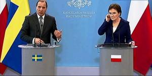 Premier Szwecji Stefan Löfven w Polsce fot. ŚWIECZAK