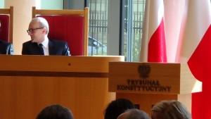 Prezydent RP na Zgromadzeniu Ogólnym Sędziów Trybunału Konstytucyjnego fot.ŚWIECZAK