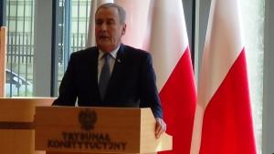 Wicemarszałek Senatu Jana Wyrowiński, Prezydent RP na Zgromadzeniu Ogólnym Sędziów Trybunału Konstytucyjnego fot.ŚWIECZAK
