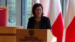 Rzecznicy Praw Obywatelskich Irena Lipowicz Prezydent RP na Zgromadzeniu Ogólnym Sędziów Trybunału Konstytucyjnego fot.ŚWIECZAK