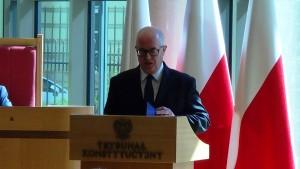 Prokurator generalny Andrzej Seremet Prezydent RP na Zgromadzeniu Ogólnym Sędziów Trybunału Konstytucyjnego fot.ŚWIECZAK